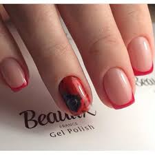 square french nails the best images bestartnails com