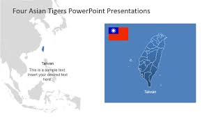 Maps Of Southeast Asia by Four Asian Tigers Powerpoint Template Slidemodel