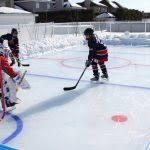 Backyard Hockey Rink Kit by Backyard Ice Rink Kits Nicerink Backyard Ice Rink Starter Kits