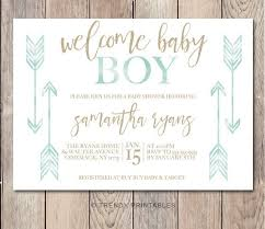 baby shower invitations for boy best 25 ba boy invitations ideas on ba boy shower baby