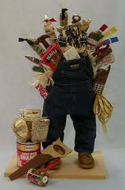 creative gift baskets creative chocolates of vermont inc worker s coveralls basket