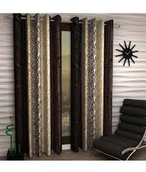 Snapdeal Home Decor Home Sizzler Brown Yellow Abstract Sdl054853150 Doors On Shopclues
