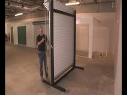 Janus Overhead Doors 2500 Installation Commercial Roll Up Door