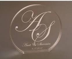 name style design initials monogram cake topper for amit u0026 sharmin bellus designs