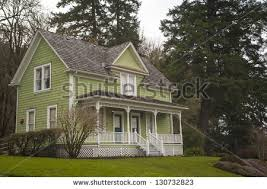 old fashioned house oldfashioned farm house porch stock photo royalty free 130732823