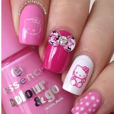 essence free hugs u0026 ultimate pink hello kitty nails personal