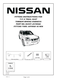 7 pin flat wiring diagram nissan an 7 wiring diagrams