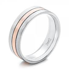 palladium rings reviews custom men s palladium and gold brushed band 101912