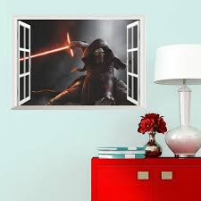 online get cheap removable wall art decals aliexpress com star wars window wall stickers for kids rooms home decor living room bedroom diy mural art decals removable wall sticker