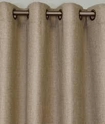 Linen Burlap Curtains The Faux Jute Grommet Curtain Panels Thecurtainshop Com