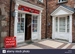 quaint old fashioned town shop with small georgian windows and