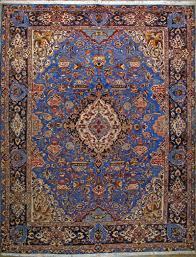 Red And Blue Persian Rug by Persian Carpet Warehouse Inc