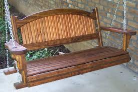 design ideas for freestanding porch swing 7190