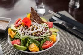 au luc dtla vegan restaurant features a menu of mostly cuisine