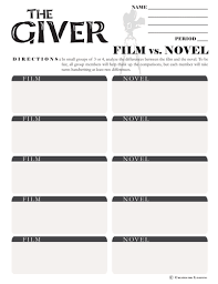 bunch ideas of the giver worksheets pdf with additional cover