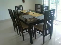 Teakwood Dining Table Teak Wood Dining Tables Modern Home Design