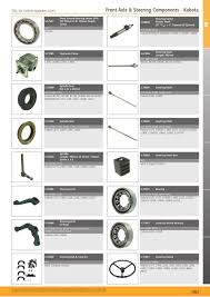 tractor parts volume 2 front axle page 221 sparex parts lists