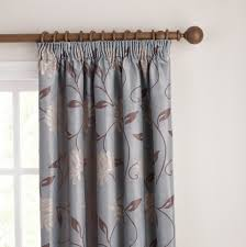 Blue And Brown Curtains Light Blue And Brown Curtains Home Design Ideas
