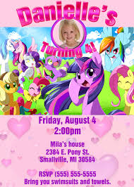 sample birthday invites free printable my little pony birthday invitations drevio