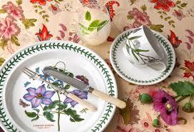 Portmeirion The Botanic Garden by Portmeirion Botanic Garden 10 Inch Dinner Plate African Lily