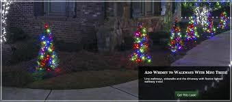 outdoor lighted christmas decorations lighted yard decorations brighten your yard with walkway trees