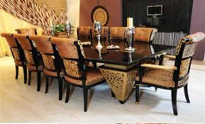 Chair Dining Room Set Dining Room Table Seating For  Dining - Black dining table seats 10