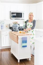 lemon stripes kitchen reveal