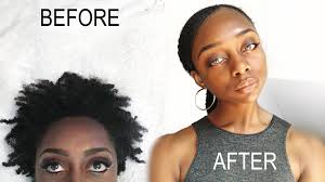hair pony tail for african hair how to sleek low pony tail on short 4b 4c natural hair