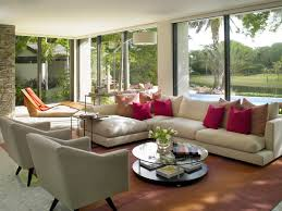 Endearing  Living Room Decorating Ideas American Style - Tropical interior design living room