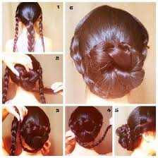 juda hairstyle steps 15 best hair images on pinterest make up looks braided
