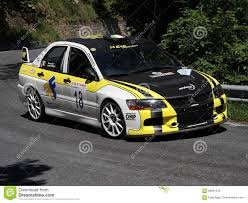 mitsubishi rally car mitsubishi evo 9 rc rally car editorial stock photo image 69901243