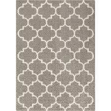 mainstays trellis 2 color shag area rugs or runner ebay