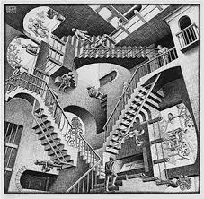 mind bending escher exhibition at the currier museum of
