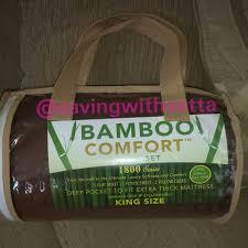 Bamboo Pillow Hotel Comfort 4 Piece Set Hotel Comfort 1800 Series Organic Bamboo Bed Sheets