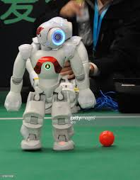 Football Conference Table Robots Play Football During 2016 World Robot Conference In Beijing