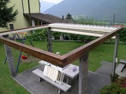 tettoie per terrazze tende a pergola e coperture per terrazze bredobau