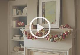 Christmas Ornament Storage Home Depot by How To Make An Ornament Garland At The Home Depot