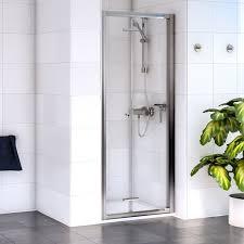 Bifold Shower Door Aqualux Shine Bifold Door Optional Side Panel 760mm 800mm 900mm