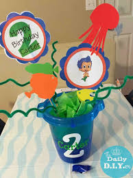 the daily diyer bubble guppies party decor