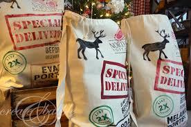 santa sacks personalized santa sacks