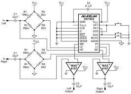 ds1802 digital potentiometer project circuit diagram world