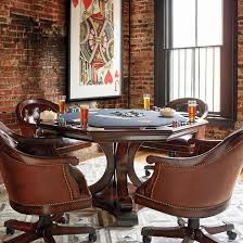 poker game table set edison game table and chairs frontgate