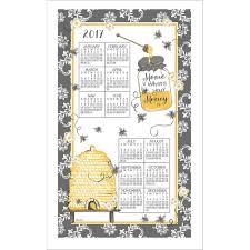 queen bee kitchen towel calendar calendars com