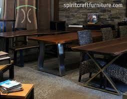 Dining Room Tables Chicago Live Edge Table And Furniture Showroom In The Chicago Area