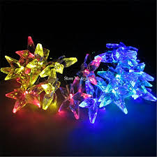 christmas lights on sale hot sale 6m christmas lights solar l 30 five pointed led
