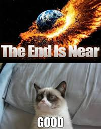 Good Grumpy Cat Meme - grumpy cat end of the world lauri s blerg