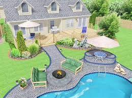 Home Landscaping Design Software Free by Backyard Design Software Free Landscape Design Program Best Images