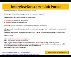 Amazon Jobs Resume Upload by When To Use Declarative Transaction Management Spring Youtube