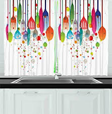 amazon com kitchen curtains americana home decor by ambesonne