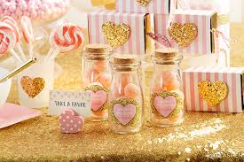 baby shower party favors pink and gold baby shower for pennies